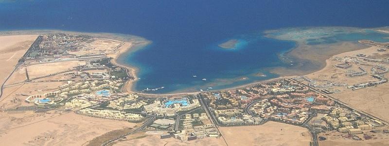 Widok na Hurghadę